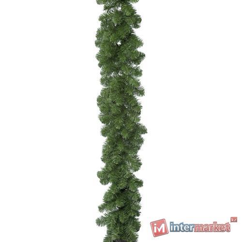 Гирлянда еловая 2,7м зеленая пушистая Императорская d0,2м