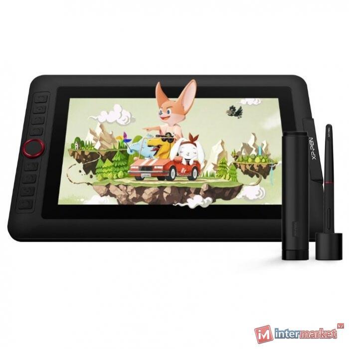 Графический планшет, XP-Pen, Artist 12 Pro, DPI 1920x1080, Чувствительность к нажатию 8192, Рабочая область 256144 мм., Чёрный