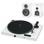 Виниловый проигрыватель Pro-Ject Juke Box E + Speaker Box 5 Белый EAN:9120097821232