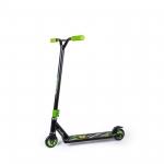 Самокат трюковой Biwec Balance+ 5+, до 100 кг. чёрно-зелёный